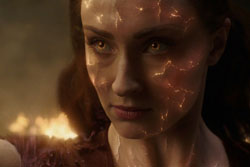 Should have used sunscreen. Dark Phoenix, image from The Verge.
