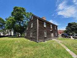 The house John Adams was born in. Photo by Marion Deeds
