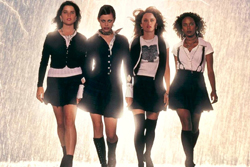The cast of The Craft, Columbia, 1996