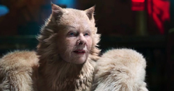 Dame Judy Dench in Cats, image from the New York Times