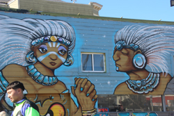 Mural, Mission District, San Francisco, CA