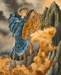 Painting by Remedios Varo, from the Wendi Collins collection.