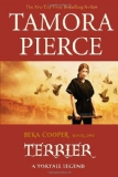 Tamora Pierce fantasy book reviews young adult The Provost's Dog Beka Coooper: 1. Terrier 2. Bloodhound 3. Mastiff