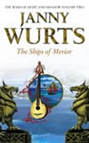 Janny Wurts THe Wars of Light and Shadow, The Curse of the Mistwraith, Ships of Merior, Warhost of Vastmark