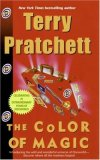 Terry Pratchett Discworld: 1. The Color of Magic 2. The Light Fantastic 3. Equal Rites 4. Mort 5. Sourcery 6. Wyrd Sisters 7. Pyramids 8. Guards Guards! 9. Eric