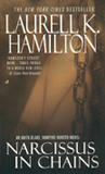 book review Laurell K Hamilton Obsidian Butterfly, Narcissus in Chains, Cerulean Sins, Incubus Dreams, Micah, Danse Macabre, The Harlequin, Blood Noir