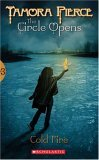Tamora Pierce young adult fantasy book reviews The Circle Opens: 1. Magic Steps 2. Street Magic 3. Cold Fire 4. Shatterglass