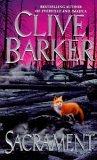book review Clive Barker Sacrament
