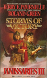 science fiction book reviews Jerry Pournelle 1. Janissaries 2. Clan and Crown 3. Storms of Victory