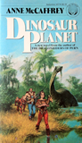 science fiction book reviews Anne McCaffrey Mystery of Ireta 1. Dinosaur Planet 2. Survivors