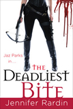 Jennifer Rardin Jaz Parks 1. Once Bitten, Twice Shy 2. Another One Bites the Dust 3. Biting the Bullet 4. Bitten to Death 5. One More Bite urban fantasy book reviews 6. Bite Marks 7. Bitten in Two 8. The Deadliest Bite