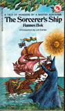 book review Hannes Bok The Sorcerer's Ship