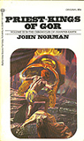fantasy book reviews John Norman The Gorean Saga 1. Tarnsman of Gor 2. Outlaw of Gor 3. Priest Kings Of Gor 4. Nomads of Gor 5. Assassin of Gor