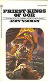 fantasy book reviews John Norman The Gorean Saga 1. Tarnsman of Gor 2. Outlaw of Gor 3. Priest Kings Of Gor 4. Nomads of Gor 5. Assassin of Gor