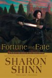 book review Sharon Shinn Twelve Houses: 1.  Mystic and Rider 2. The Thirteenth House 3. Dark Moon Defender 4. Reader and Raelynx 5. Fortune and Fate fantasy book reviews