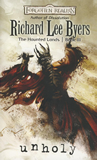 fantasy book reviews shared world Richard Lee Byers Forgotten Realms: Haunted Lands 1. Unclean 2. Undead 3. Unholy 4. Realms of the Dead