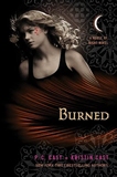 PC Cast, Kristen Cast House of Night book review 1. Marked 2. Betrayed 3. Chosen 4. Untamed 5. Hunted 6. Tempted 7. Burned 8. Awakened