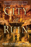 fantasy book reviews Mark Charan Newton Legends of the Red Sun 1. Nights of Villjamur 2. City of Ruin