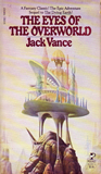 fantasy book reviews Jack Vance The Dying Earth, The Eyes of the Overworld, Cugels Saga, Rialto the Marvellous