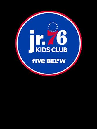 Jr. 76ers Kids Club presented by Five Below