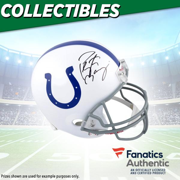 Peyton Manning Autographed Helmet