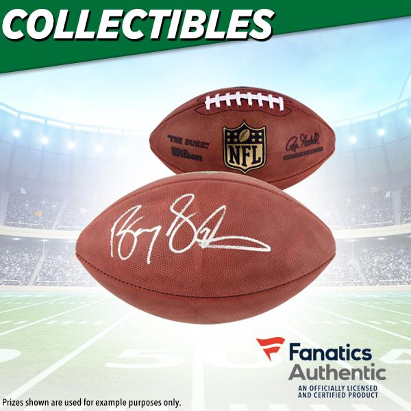 Barry Sanders Autographed Football