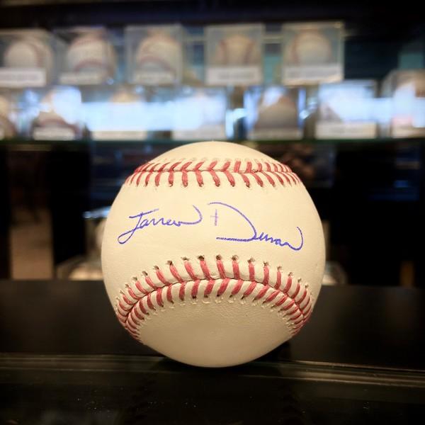 Jarred Duran Autographed Baseball