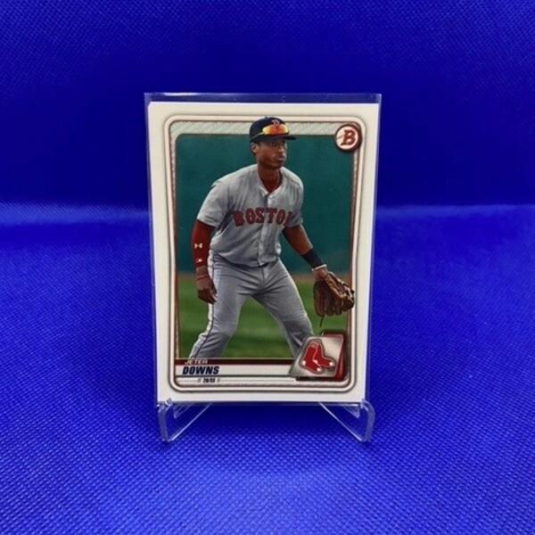 Jeter Downs Topps Baseball Card