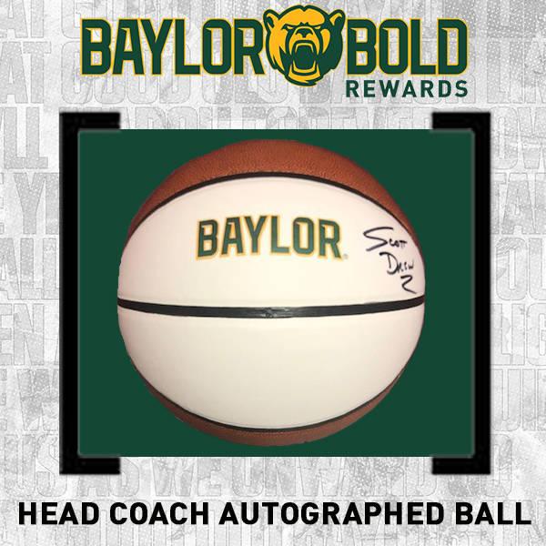 Autographed Baylor Head Coach Ball