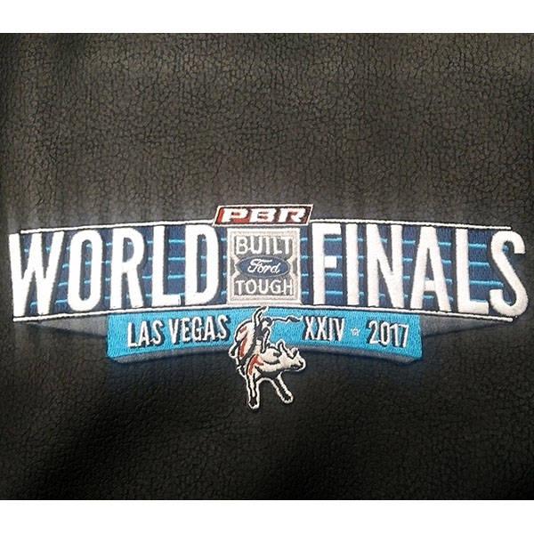 2017 World Finals Rider Vest Patch