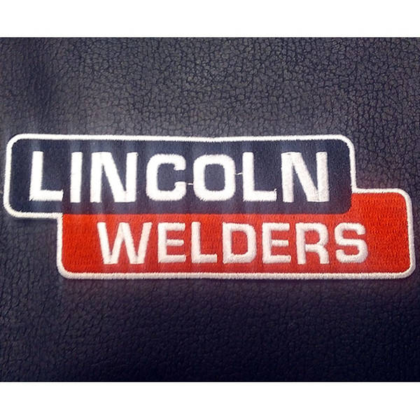Lincoln Welders Rider Vest Patch