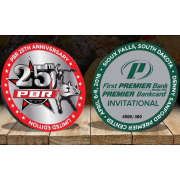 PBR 25th Anniversary Challenge Coin - Sioux Falls