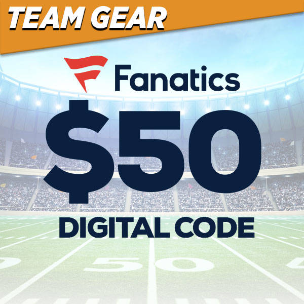 $50 Fanatics Digital Code