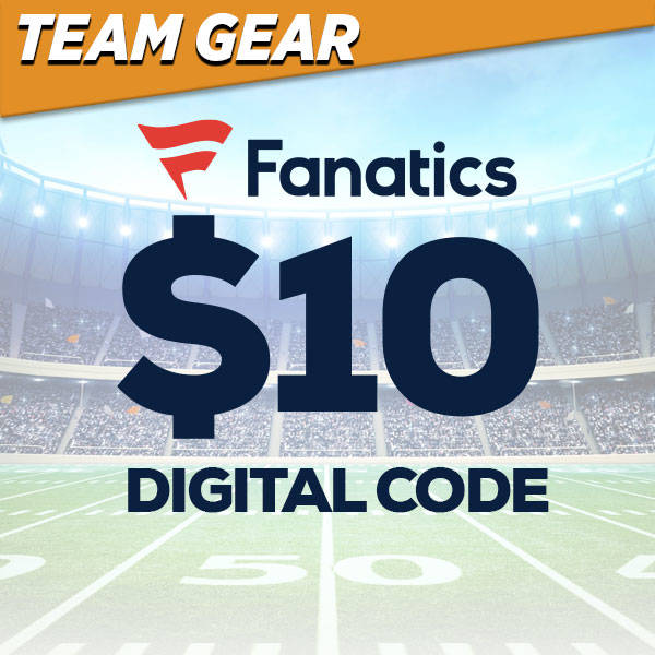$10 Fanatics Digital Code
