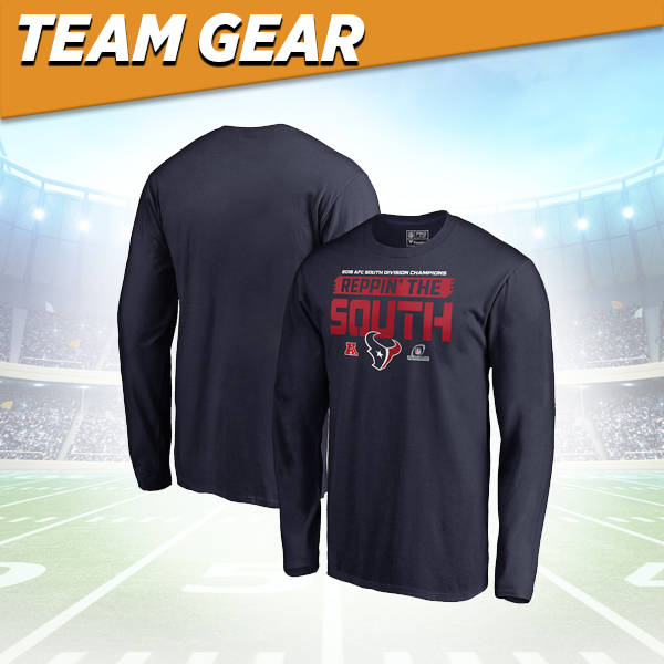 Houston Texans Division Champs Long Sleeve