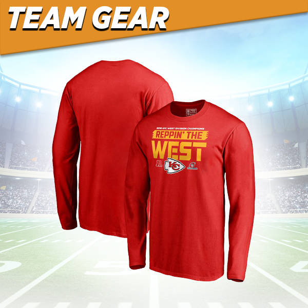 Kansas City Chiefs Division Champs Long Sleeve