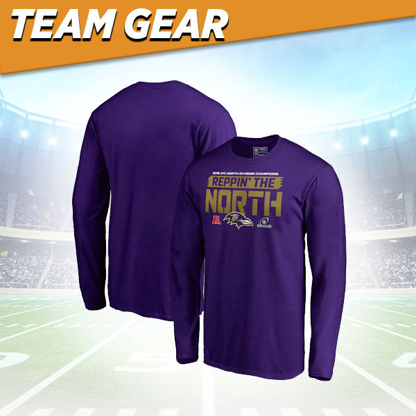 Baltimore Ravens Division Champs Long Sleeve