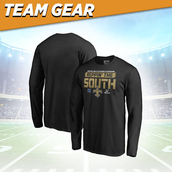 New Orleans Saints Division Champs Long Sleeve