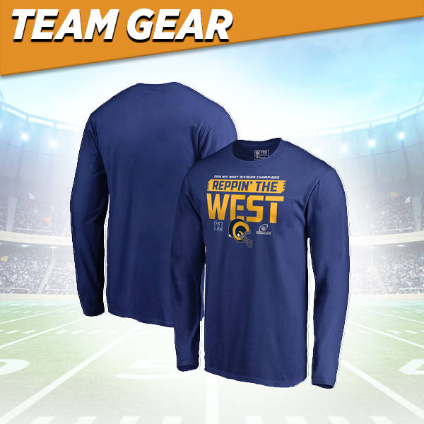 Los Angeles Rams Division Champs Long Sleeve