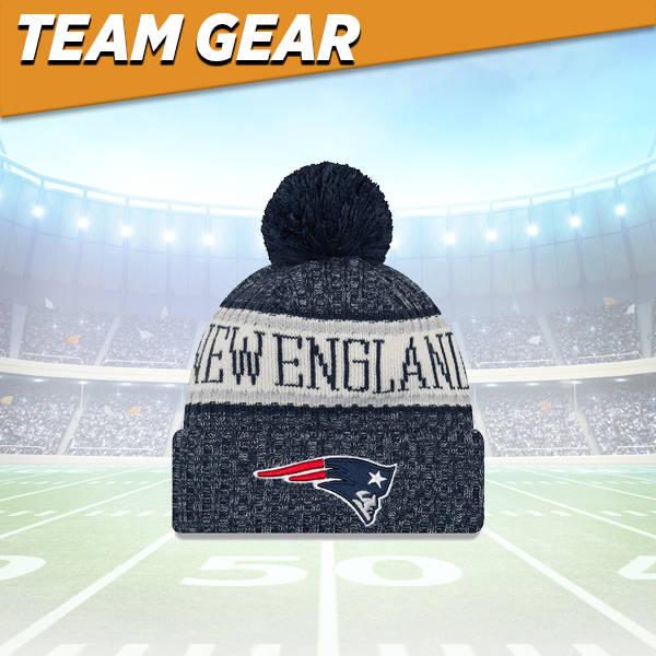 New England Patriots Knit Hat