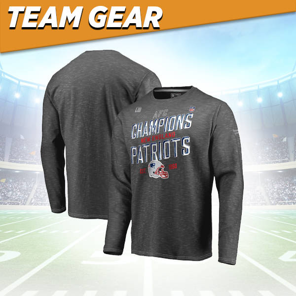 New England Patriots Conference Champs Long Sleeve