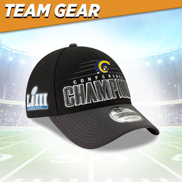 Los Angeles Rams Conference Champs Hat