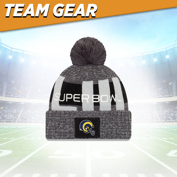 Los Angeles Rams Knit Hat