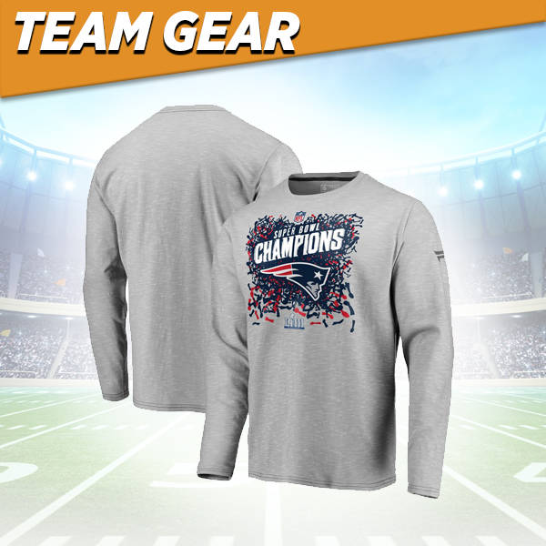 New England Patriots Champions Long Sleeve