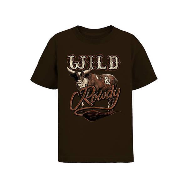 PBR Wild & Rowdy Youth T-Shirt
