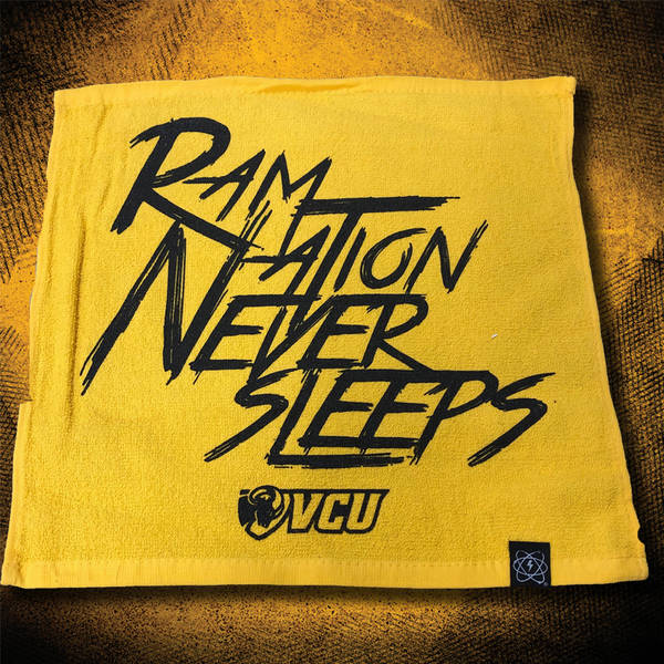 Ram Nation Never Sleeps Rally Towel Vcu Rams Rewards