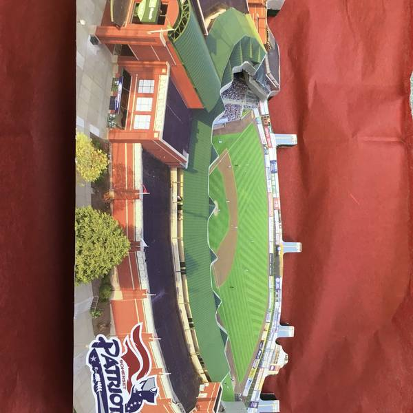 3D Commemorative TD Bank Ballpark Homefields Collector piece