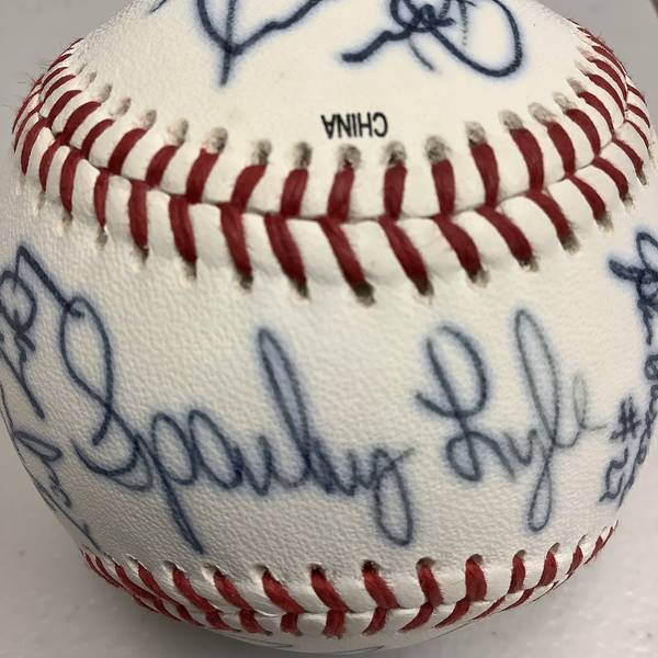 1999 Team Signed Baseball