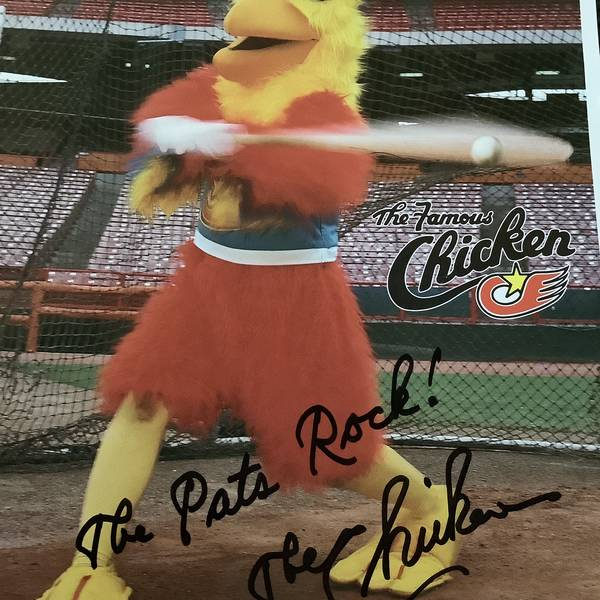 Autographed the chicken 8x10