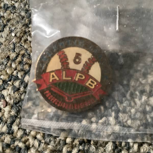Vintage Atlantic league five year anniversary pin